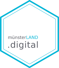 Logo münsterLAND.digital